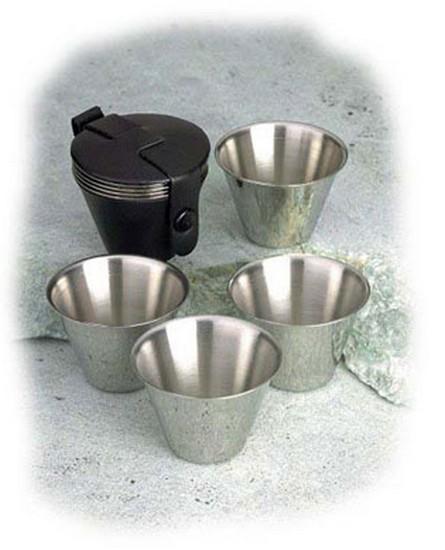 Relags rozsdamentes acél pohárkészlet 4 az 1-ben