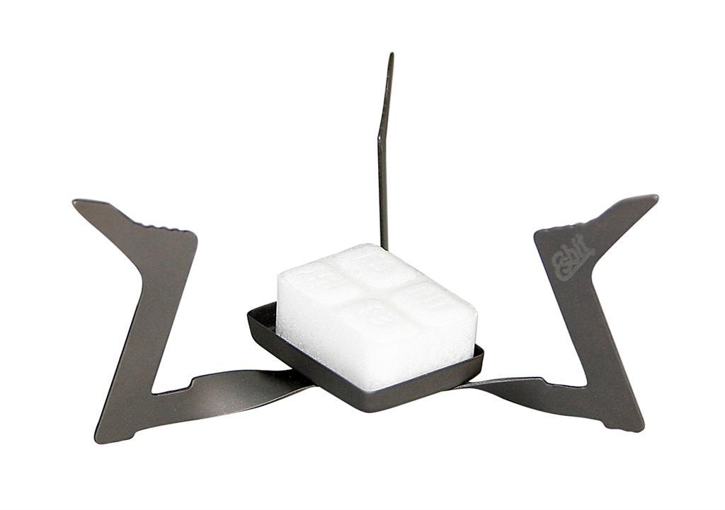 Esbit gyújtókockával működő titán túrafőző