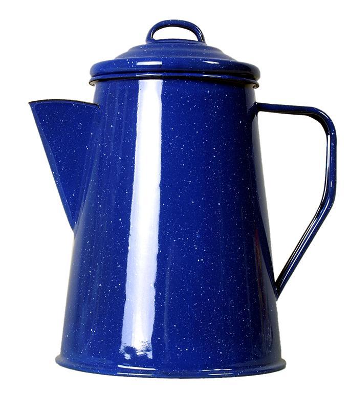 Relags Enamel Coffee Pot 1,8 l-es zománcozott teás kanna
