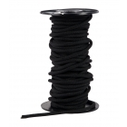 Gilmonte 3 mm-es fekete kötélgyűrű