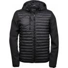 Tee Jays Hooded Crossover férfi kabát