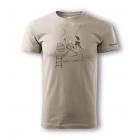 Sandstone Tea-Time rövid ujjú pamut póló