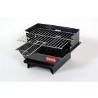 Relags Minigrill 102 mobil acél faszenes grillsütő