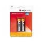 AgfaPhoto Lítium AA ceruza elem (2 db)