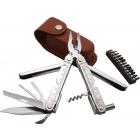 Baladéo Multi-tool Adventure 22 funkciós kéziszerszám bőr tokban