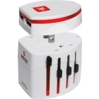 Skross World Travel adapter USB töltővel