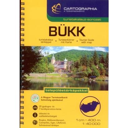 Cartographia Bükk turistakalauz