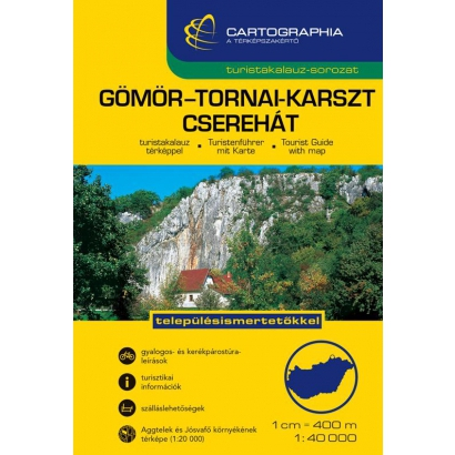 Cartographia Gömör-Tornai-Karszt turistatérkép