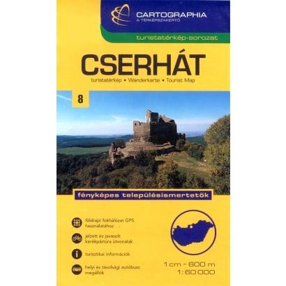 Cartographia Cserhát turistatérképe