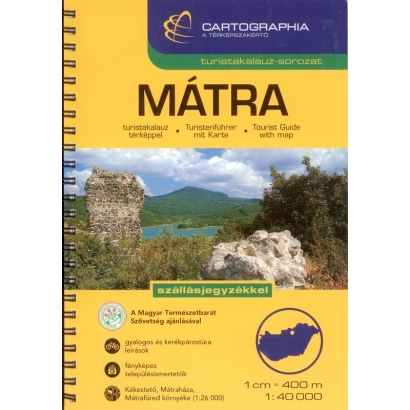 Cartographia Mátra turistakalauz