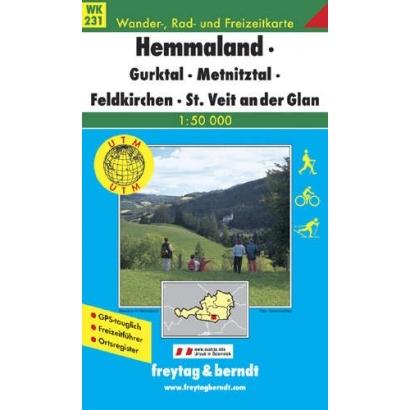 Vinshgau Ötztaler Alpen turistatérképe