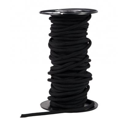 Zilmont 4 mm-es fekete kötélgyűrű
