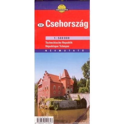 Cartographia Csehország térképe