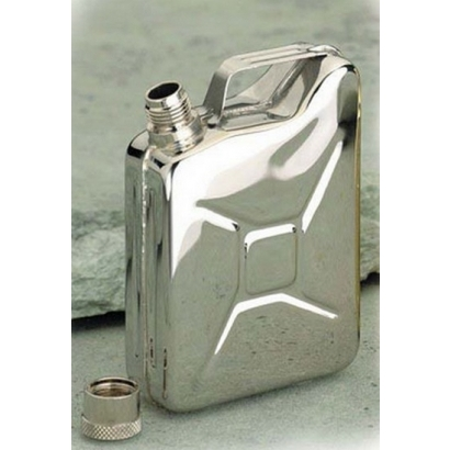 Basic Nature Flachmann Kanister rozsdamentes acél flaska
