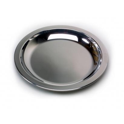 Basic Nature Edelstahlteller rozsdamentes tányér