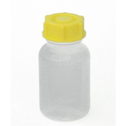 Basic Nature Bottle 100ml-es PE műanyag széles nyílású palack