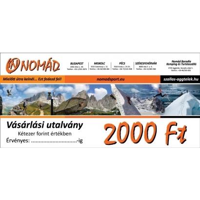 Vásárlási utalvány - 2.000 Ft