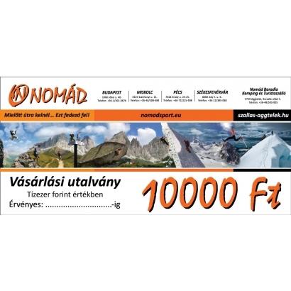 Vásárlási utalvány - 10.000 Ft