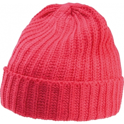 K-up Chunky Knit Hat sapka