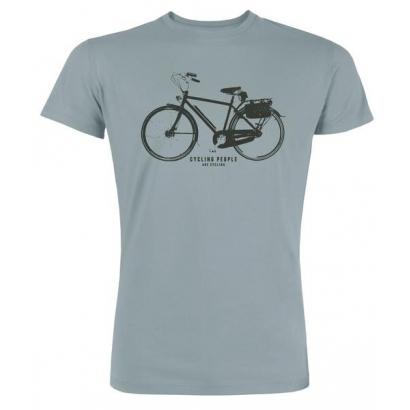 Cycling People Urban Cycle férfi rövid ujjú organikus pamut póló