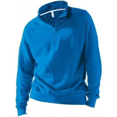 Kariban Zip Neck férfi pulóver