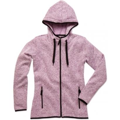 Stedman Knitted női kapucnis polár kardigán