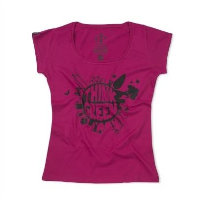 Bap Think Green női rövid újjú póló