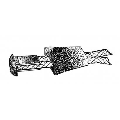 Relags cipzár húzóka
