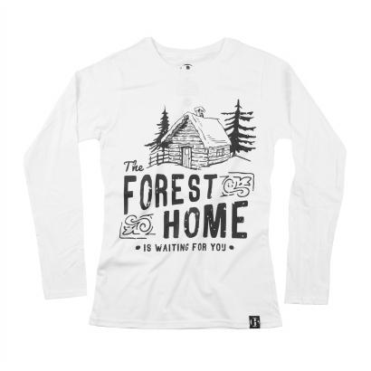 BAP Forest Home hosszú ujjú női póló