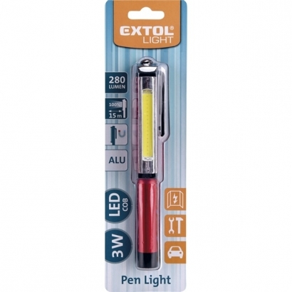 Extol 43118 toll típusú LED lámpa