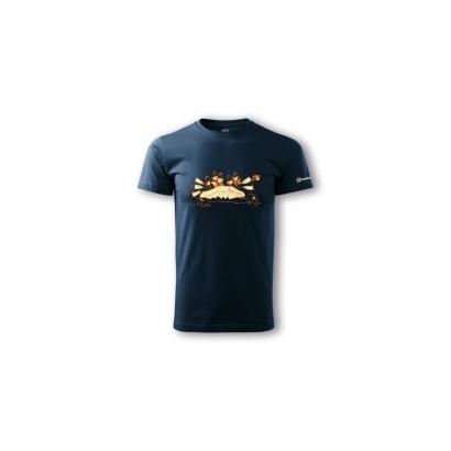 Sandstone Rafting rövid ujjú férfi póló