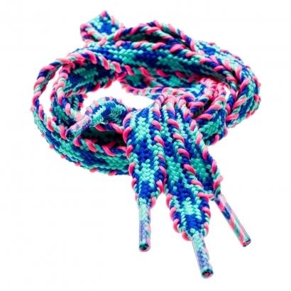 IQ Etno Multicolor lapos cipőfűző