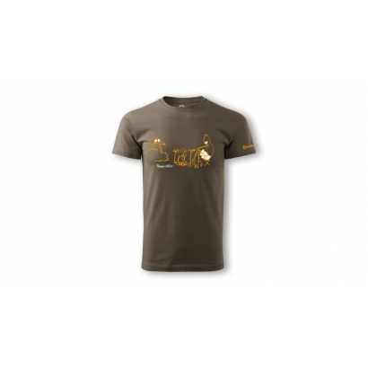 Sandstone Hake rövid ujjú férfi póló
