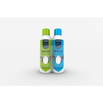 Storm Twin Pack (Wash in) 75 ml mosó és impregnáló szer