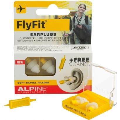 Alpine FlyFit füldugó utazáshoz