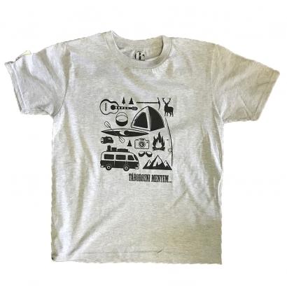 BAP Táborozni mentem gyerek póló