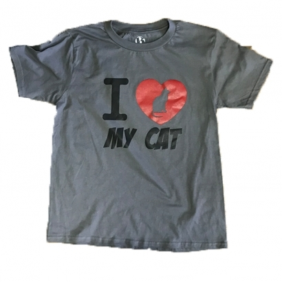 BAP I Love my cat gyerek póló
