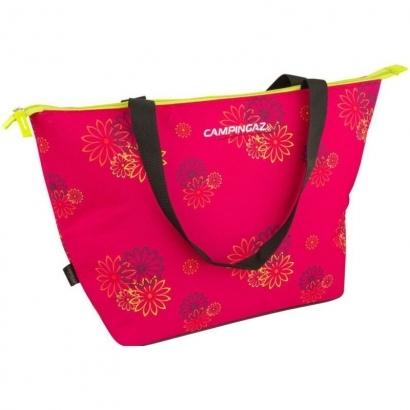 Campingaz Pink Daisy 15 L Shopping hűtőtáska