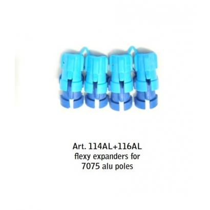 Fizan Flexy 14 + 16 7075/6013 rögzítő dió