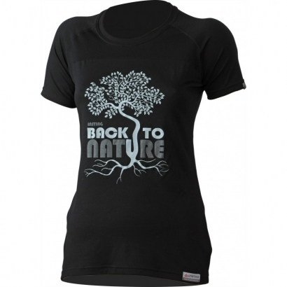 Lasting Back Merino gyapjú női póló