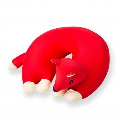 Cuddlebug U-alakú rókás nyakpárna