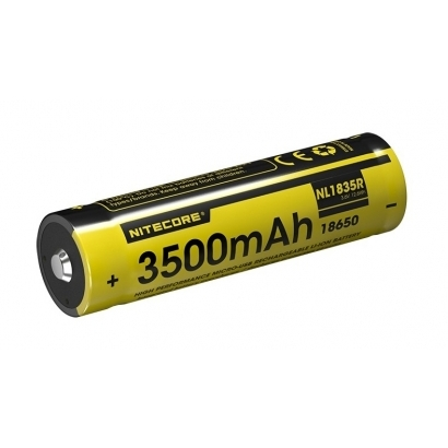 Nitecore 18650 USB Li-Ion Akku, 3500 mAh, NL1835R