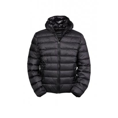 Tee Jays Zepelin Hooded férfi bélelt kabát