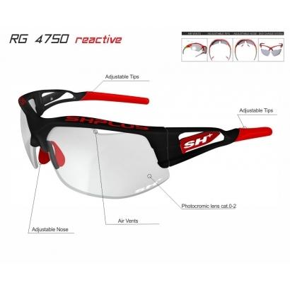 SH+ RG 4750 REACTIVE PLUS sport napszemüveg