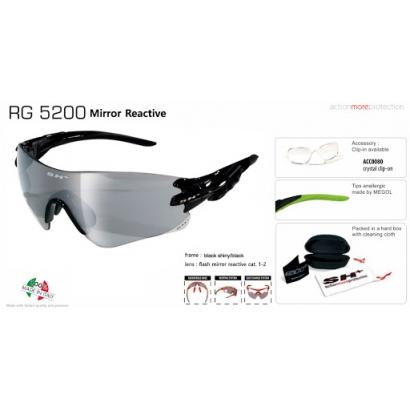 Sh+ RG 5200 REACTIVE FLASH cserélhető lencsés napszemüveg