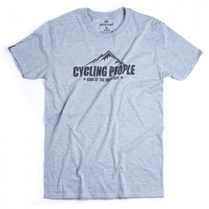 Cycling People King of the mountains férfi póló