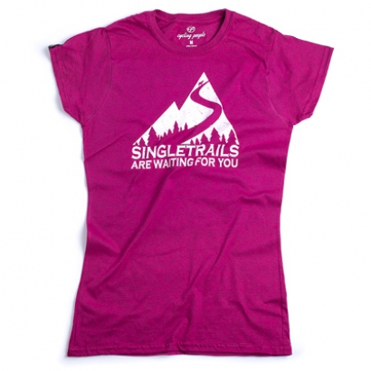Cycling People Singletrails női póló