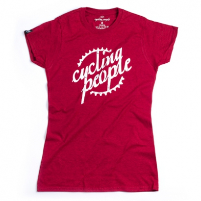 Cycling People CP logo női póló