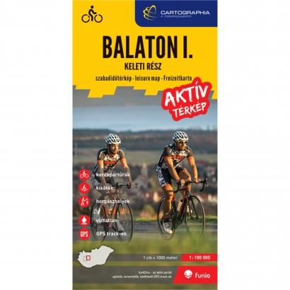 Cartographia Balaton I. aktív térkép - keleti rész
