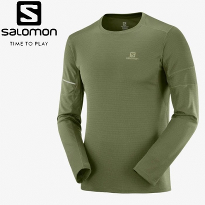 Salomon Agile LS Tee M férfi hosszú ujjú futópóló